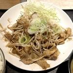 おきばり屋 - 豚Wの生姜焼き