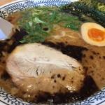 丸源ラーメン - 黒とんこつラーメン