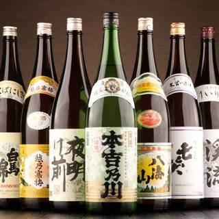 こだわりの信州地酒を揃えました!!