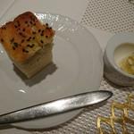 ル レストラン マロニエ - タマネギのフォカッチャ