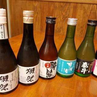 観光客の方にも◎♪地酒を含む全国の日本酒が充実!
