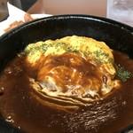 石焼オムライスダイニング クローバーキッチン - ソースは4種類から選べ、デミグラスソースにしました(2019.4.25)