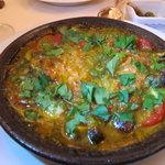 クチーナ ヒラタ - 魚介のガーリックバター焼き
