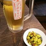 東京大塚のれん街 ブタマミレ - 生ビール 490円