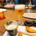 SAI.teppan - 生ビール・スープ