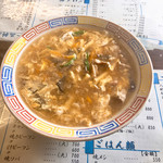 宝来軒 - 料理写真:玉子スープ450円