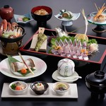 稚加榮 - 料理写真:活造り入り会席
