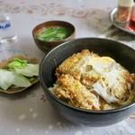 司食堂 - 料理写真:カツ丼(上) 1100円