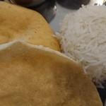 南インドキッチン - ○+Basmati Rice、△Bhatura、○+Papad