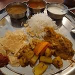 南インドキッチン - ・結局、こうする