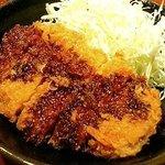 七星 - 串カツ屋七星 ソースカツ丼(480円)