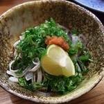 竹駒 - フグの湯引き