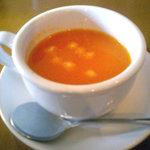 1064771 - アジアンランチセット「本日のスープ」トマト