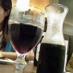 グランドブッフェ - ハウスワイン赤キャラフェ(609円)