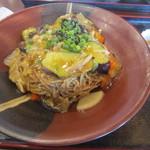 食事処 旬菜亭 - 料理写真:五目みぞれあんかけ蕎麦