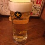 ちんどん - 焼き鳥は、ビールが美味い!