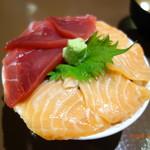 新・函館市場 - 生きの良い刺身が旨い