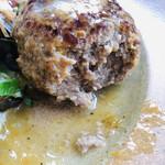 夙川 五感で楽しむイタリアン&カフェ トリニティ - 肉汁ぶっしゃー!!とあふれ出ます☆彡梨汁ぶっしゃーのふなっしーはどこへ行ったのかしら。