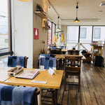 夙川 五感で楽しむイタリアン&カフェ トリニティ - レストランと言うよりもオシャレなカフェです(о´∀`о)