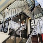 夙川 五感で楽しむイタリアン&カフェ トリニティ - 外階段を上って2階3階が、トリニティさん☆彡