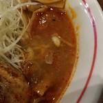 麺部屋 綱取物語 - スープ