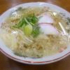 武蔵屋食堂 - 料理写真:素ラーメン