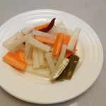 府城 - 野菜のピクルス