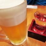 106419206 - 生ビールと九頭竜
