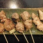 江戸前きよ寿司 - まぐろ珍味串焼き始めました
