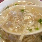 10642900 - 海鮮と里芋のとろみスープアップ