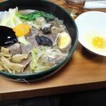 なにや - 牛すき麺1800円12月