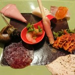 イル ポッツオ - 前菜9種の盛り合わせ