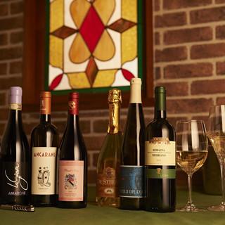 本場の郷土料理とイタリアの美味しいワイン