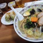 なにや - 12月30日五色麺の麺菜デフォルト