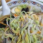 なにや - 12月30日の五色麺:麺菜