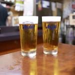 ひょうたん - ☆生ビール 450円