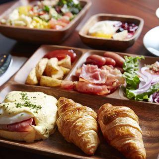 《ホテル朝食★モーニングビュッフェ》