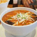 南国酒家&ナチュラル - 酸味まろやか 玄米黒酢入りスーラータン麺
