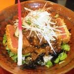 彩 - ひこね赤鬼丼700円