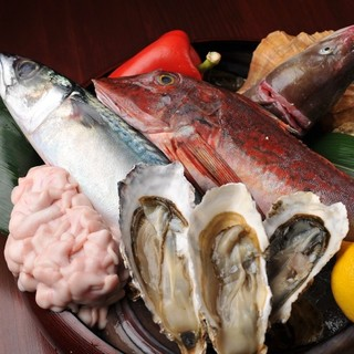 ★三陸産を中心とした新鮮食材が毎日入荷!