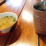 バーンチェン - スープでわくわくタイム。