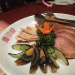慶珍楼 - 4種冷菜盛り合わせ