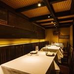 イタリア料理マメトラ - 1Fテーブル席