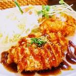 レストラン まつもと - 日替りランチ780円 ポーク上ヒレカツ
