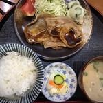 ミートピア - 料理写真:豚しょうが焼き定食  750円