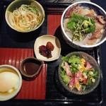 高麗橋桜花 - 海鮮丼セット