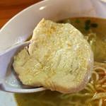 里山の食事処 山小屋亭 - 信州地鶏のチャーシュー