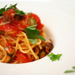 Bar&Grill G7 - トマトとオリーブのアーリオ オーリオ