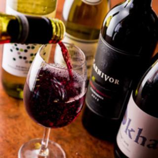 数量限定ナイアガラあり→30種のワインビュッフェ