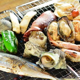 ★毎日40種~海の幸食べ放題!